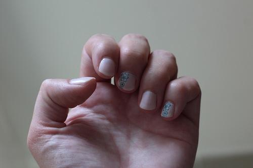 nail art avec A England