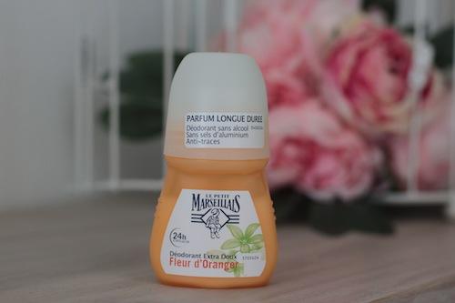 déodorant extra doux du Petit Marseillais