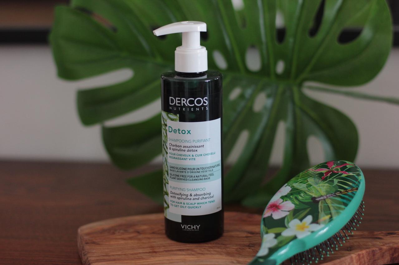 cure detox Dercos Nutrients ; soin cheveux ; cheveux regraissant vite