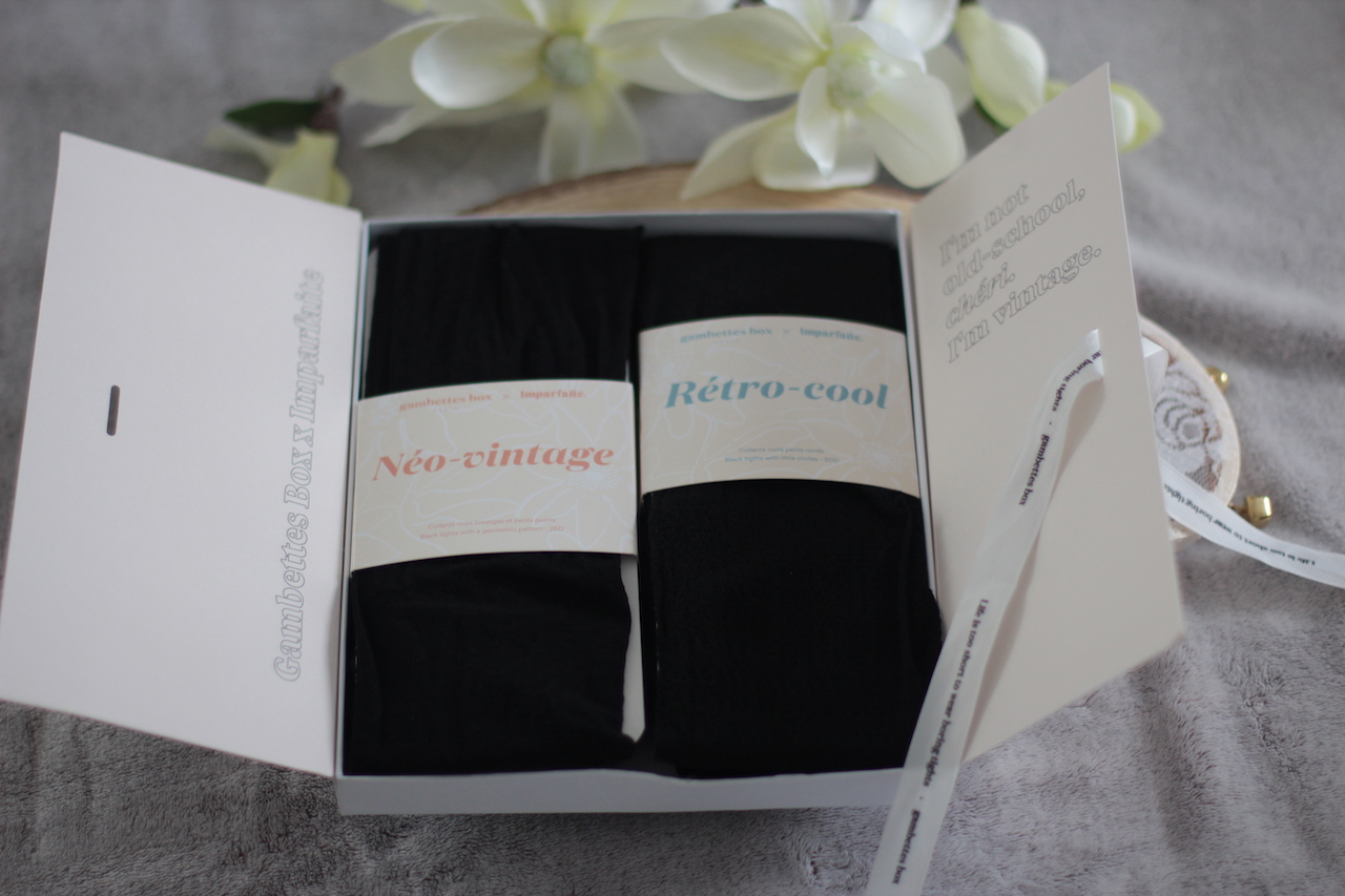 box ; collants ; mode ; gambettes box x imparfaite