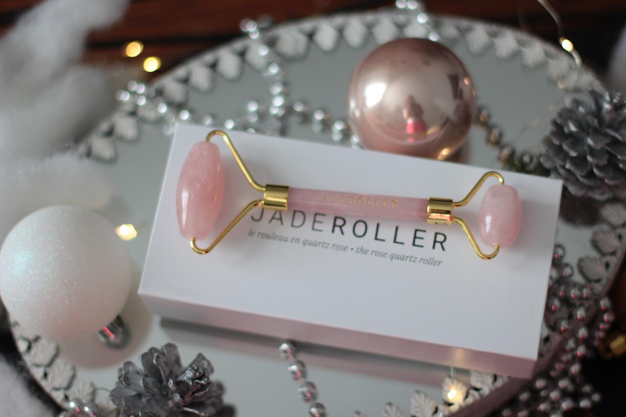 Jade Roller ; rouleau en quartz rose