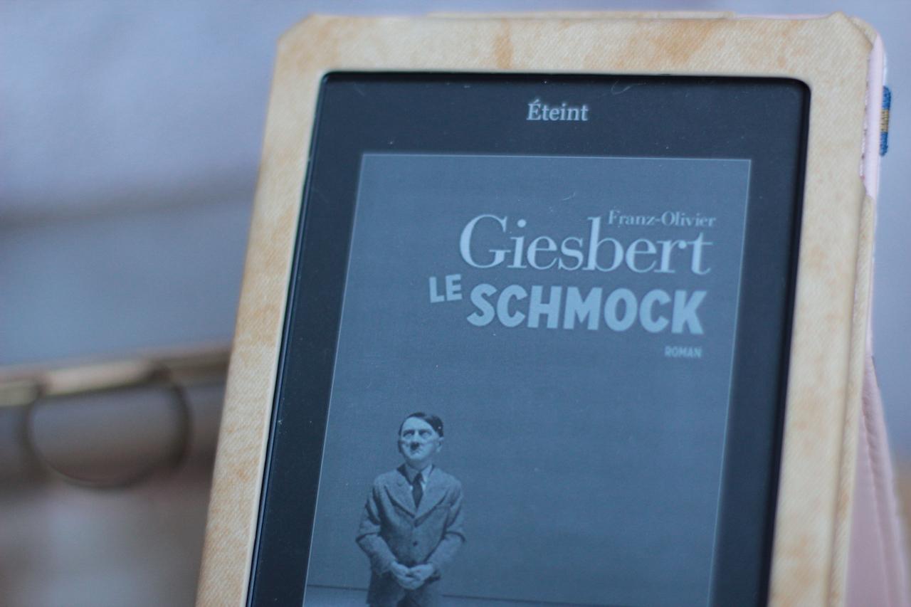 Le Schmock de Franz-Olivier Giesbert ; liseuse ; koko ; ebook