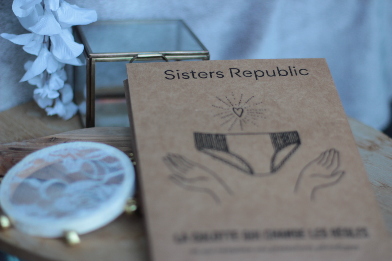 culotte menstruelle de Sisters Republic