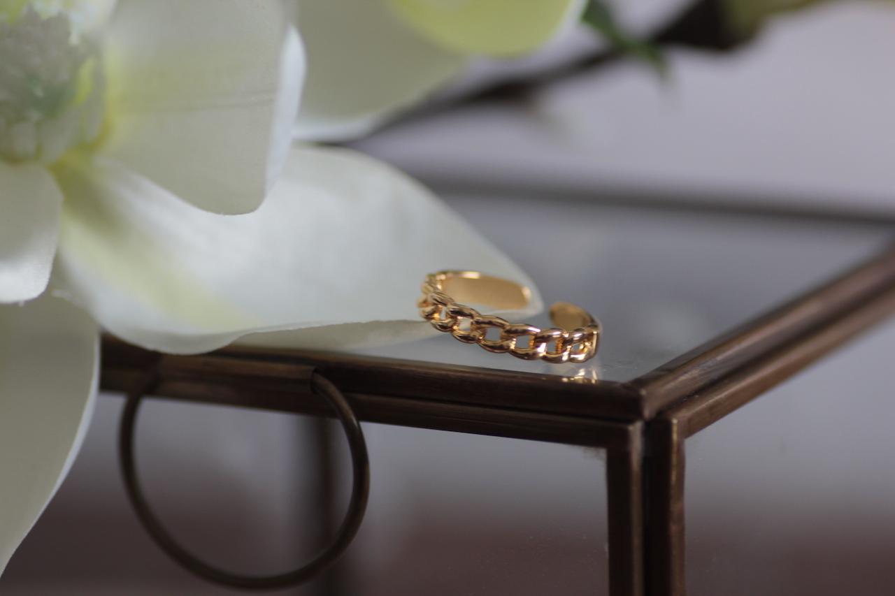 bague ; laiton doré ; bijoux