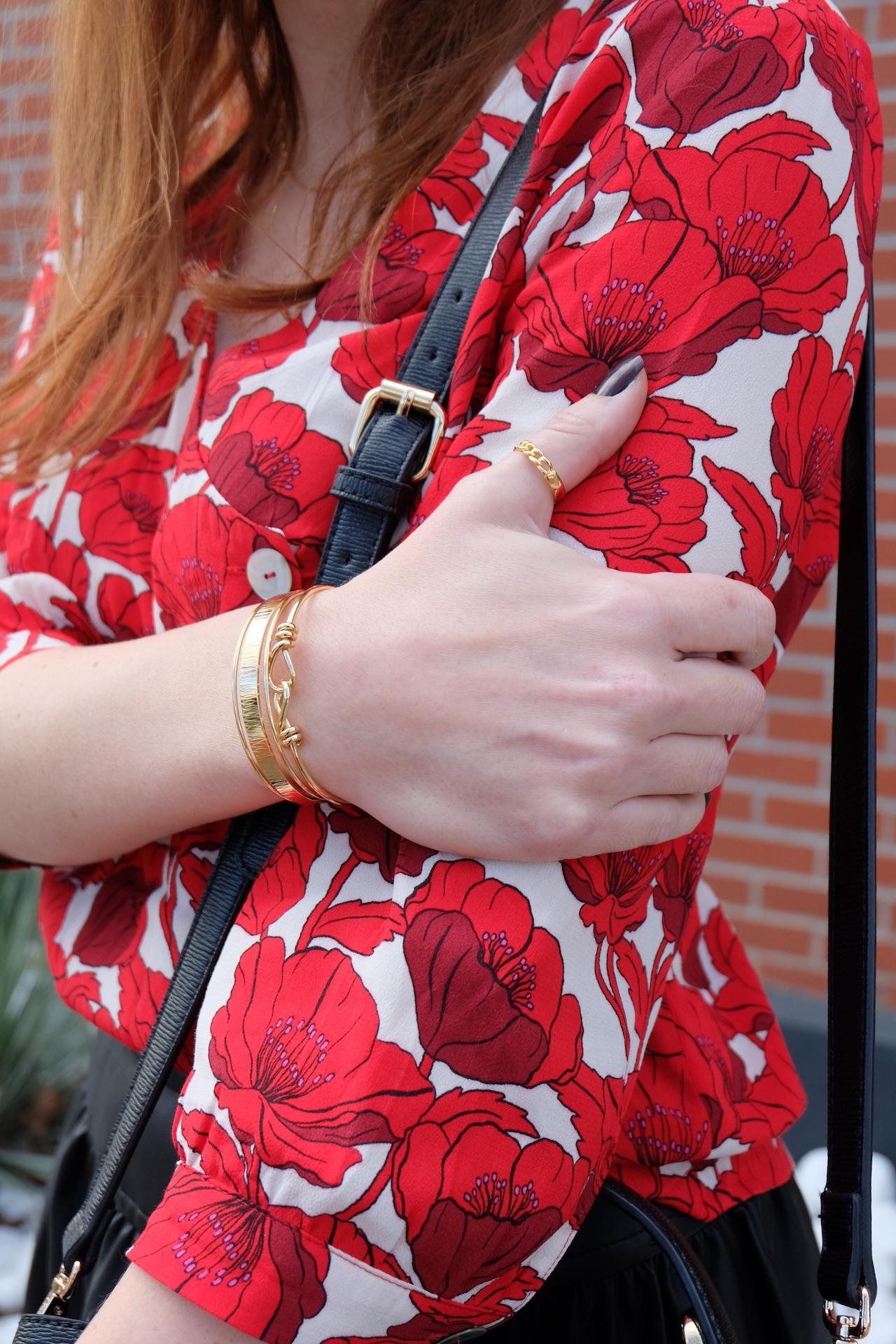 look ; bijoux ; laiton ; doré ; madeline paris