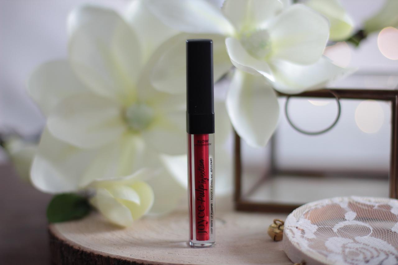 rouges à lèvres ; mat ; repulpant ; blow strawbery ; joyce paris