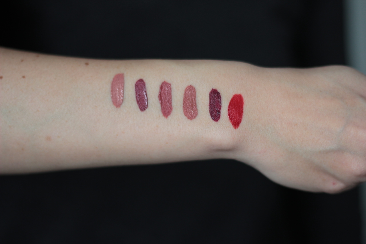 swatch ; rouge à lèvres