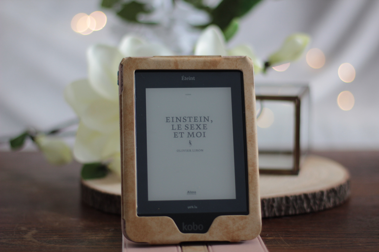 einstein le sexe et moi ; livre ; liseuse ; ebook