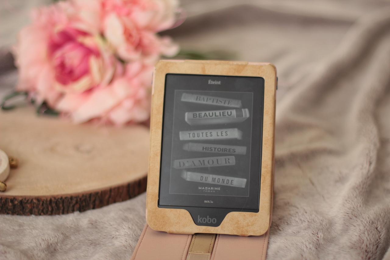 Toutes les histoires d'amour du monde ; livre ; lecture ; ebook ; liseuse ; kobo