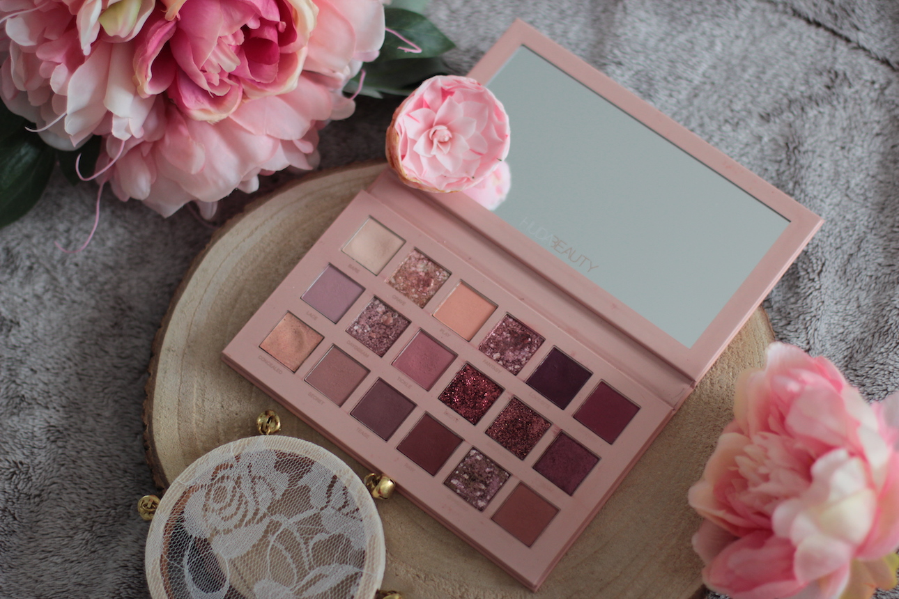 New Nude de Huda Beauty ; palette ; maquillage
