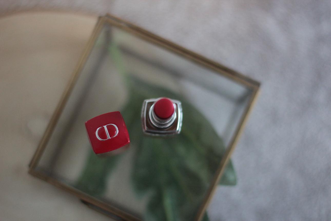 Ultra Rouge de Dior ; maquillage ; rouge à lèvres ; Dior