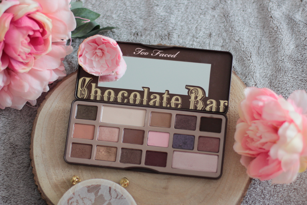 chocolate bar ; too faced ; palette ; maquillage