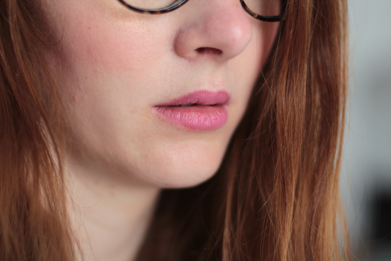 swatch ; rouge à lèvres ; rose ; sephora