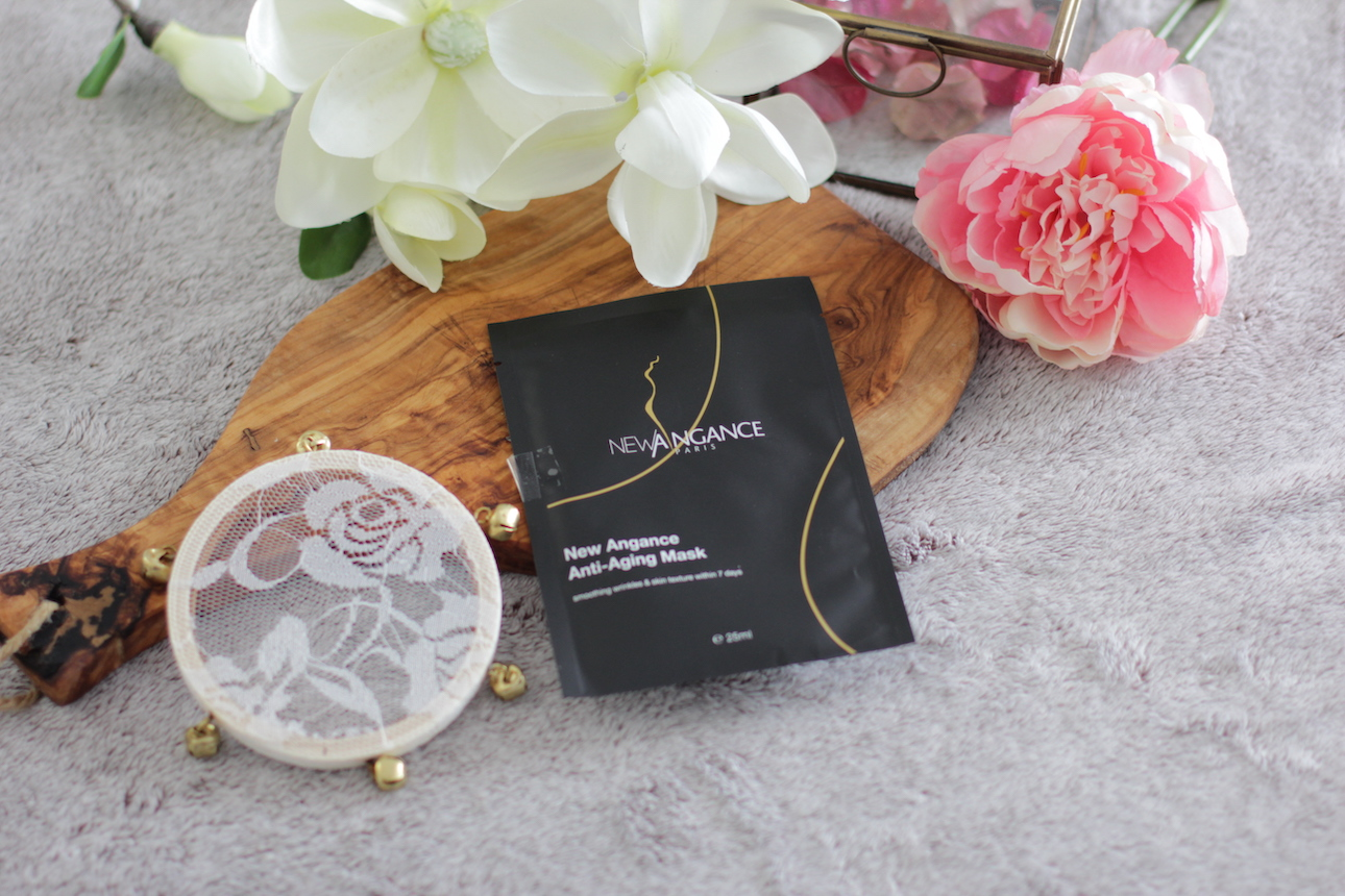new angance ; masque ; soin visage ; beauté ; cocooning