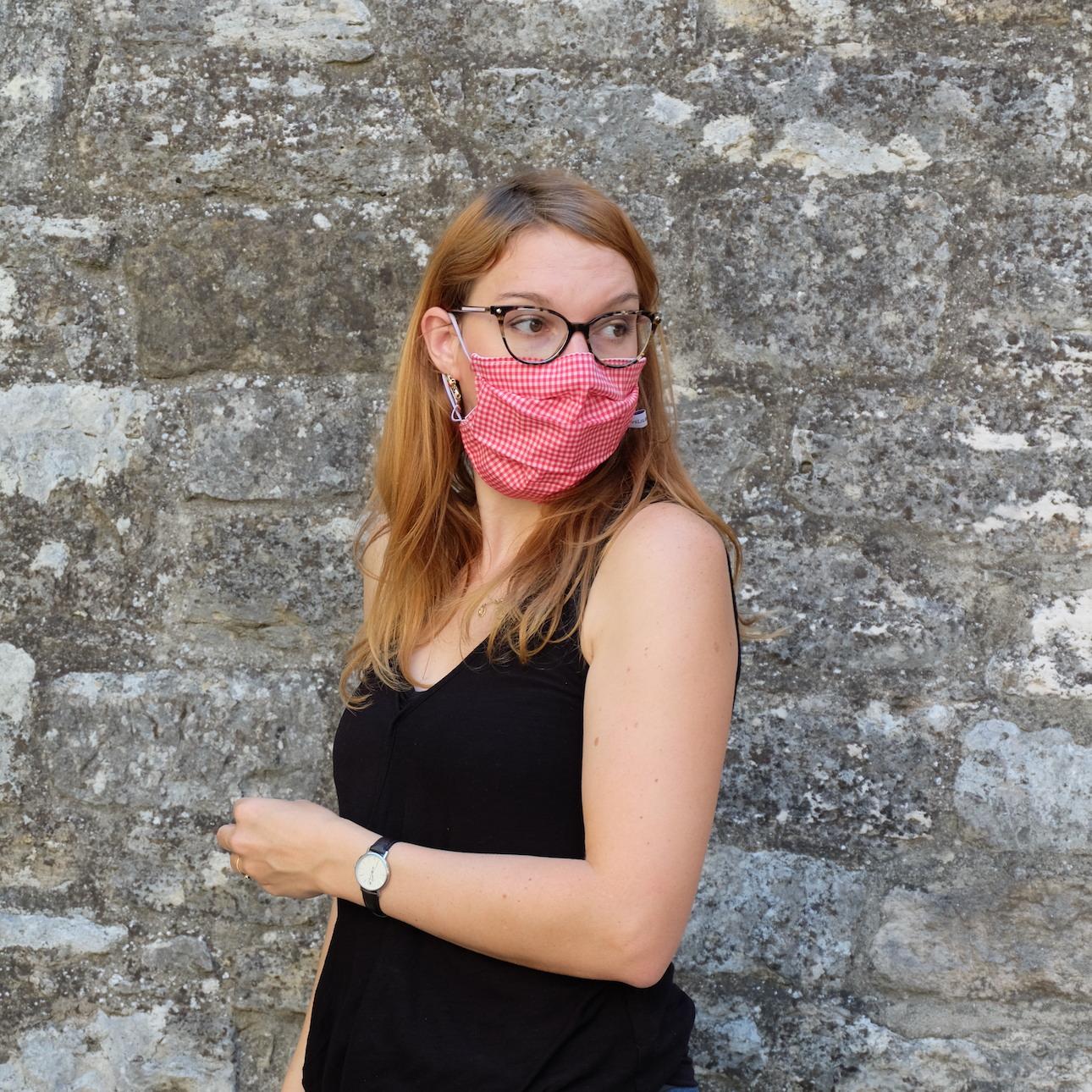 Où ranger son masque réutilisable
