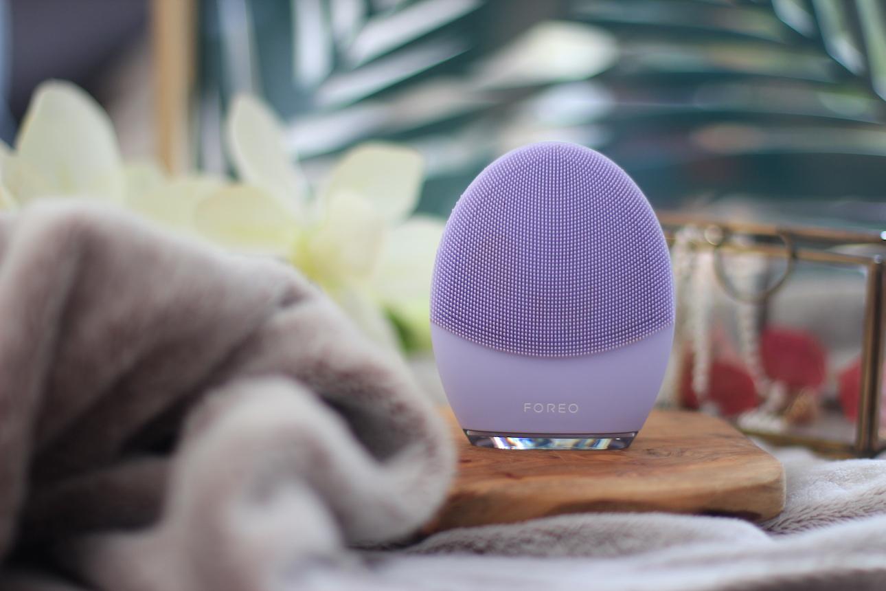 Luna 3 de Foreo ; brosse nettoyante ; nettoyage ; cleaning ; soin ; massage