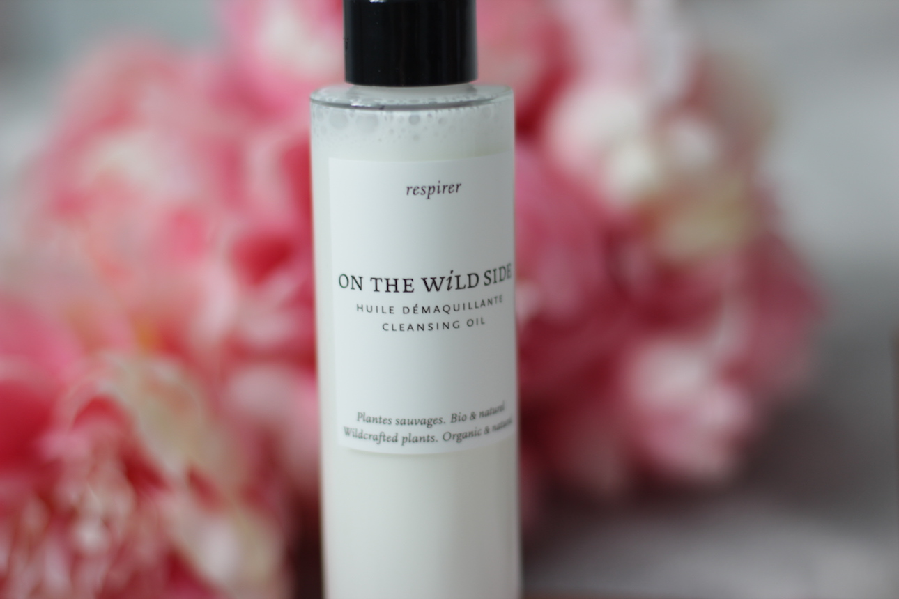 huile démaquillante on the wild side ; made in france ; démaquillant ; skincare