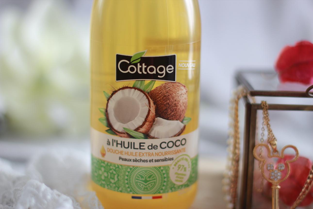 huile de coco de cottage